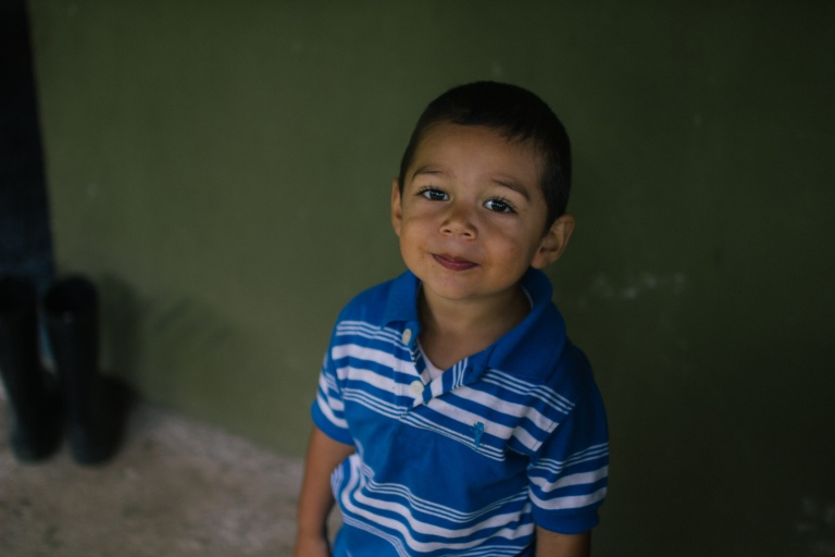 Meet two year old Alejandro!