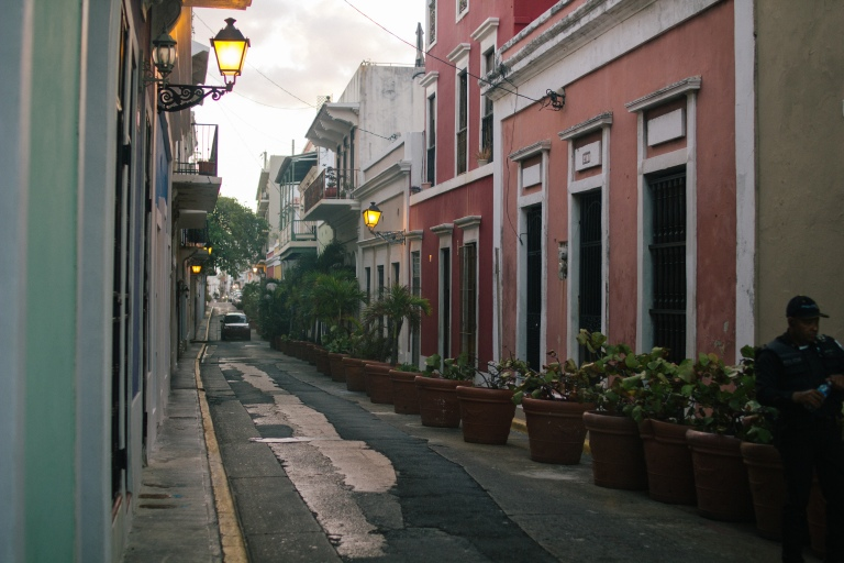Viejo San Juan and its colorful buildings