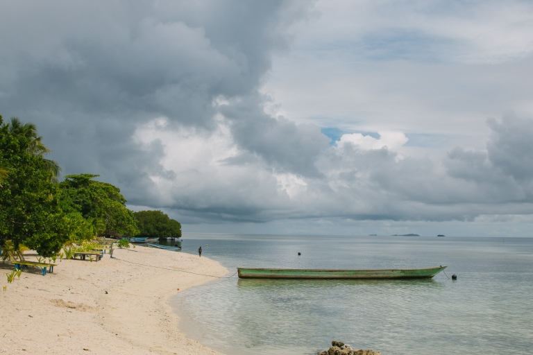 We came there during the rainy season, which isn't actually the best time to visit Raja Ampat, but that was literally the only time when all of us were free, so we just went and had a ton of fun nonetheless!